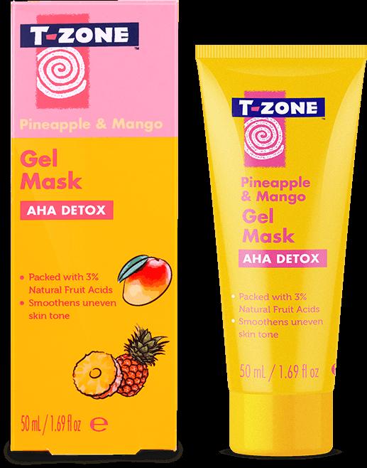T-ZONE Pineapple & Mang AHA Detox gel mask