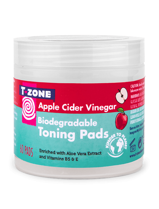 Apple Cider Vinegar Biodegradable Toning Pads
